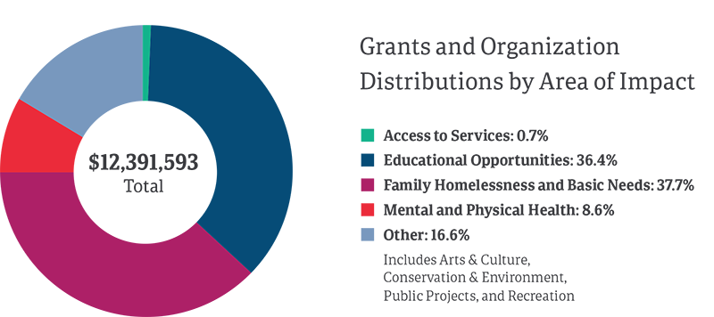 Grants By Area of Impact