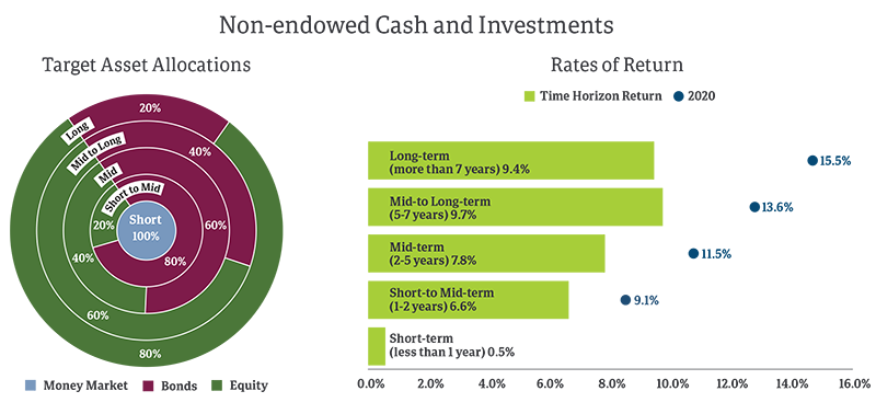 Non-Endowed Investment Charts